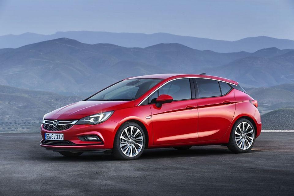 Der Opel Astra 1.6 CDTI ist 110 PS stark.