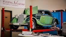 Autosammlung Aaron Weiss - das neueste Spielzeug ein Mercedes 290 Cabriolet A von 1936