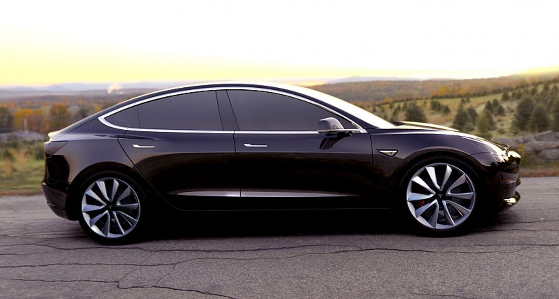 Tesla Model 3 - und bei 35.000 Dollar starten