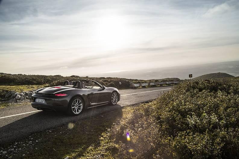 Porsche 718 Boxster - 0 auf 100 km/h in 4,2 Sekunden