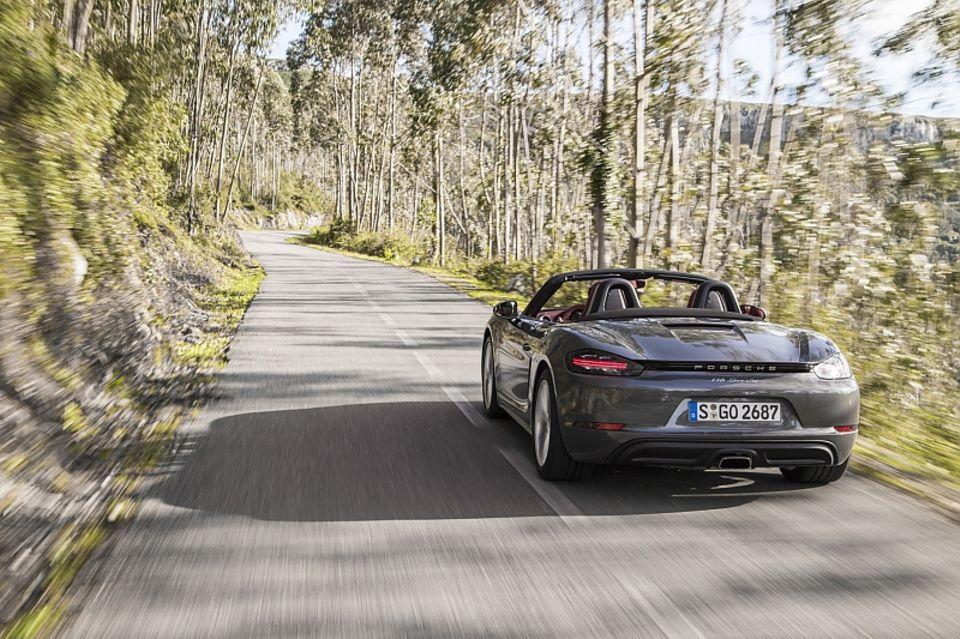 Porsche 718 Boxster - perfekt für die Passstraße