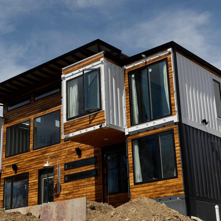 Container-Home: Dieses Luxus-Haus wurde aus Containern errichtet