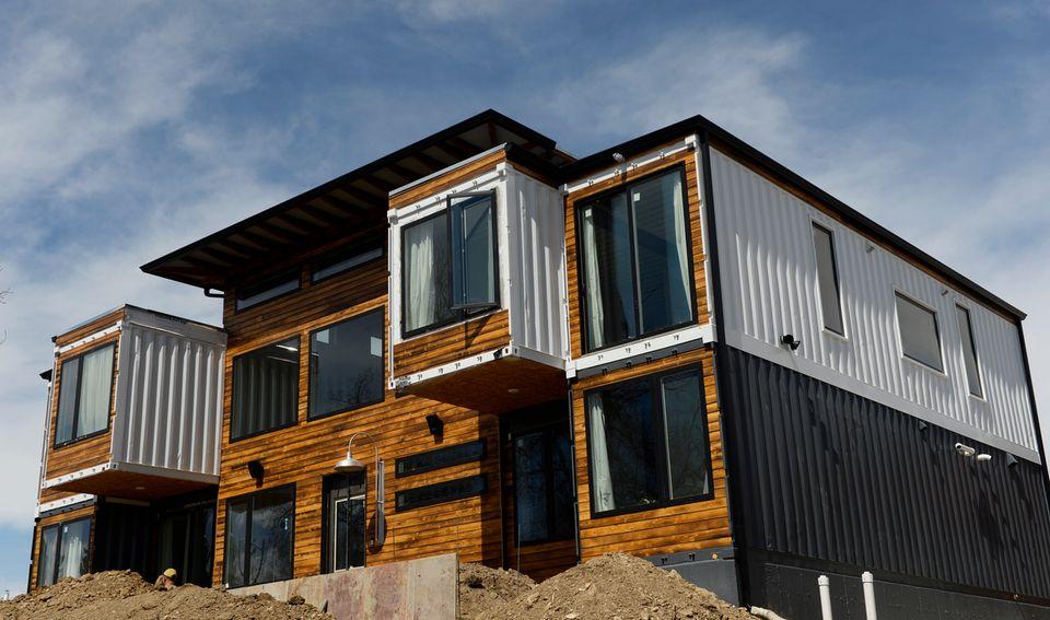 Luxus Haus aus Containern