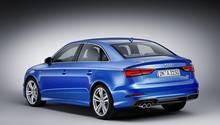 Audi A3 Modellpflege 2016 - auch am Heck gibt es viel Ähnlichkeit zum A4