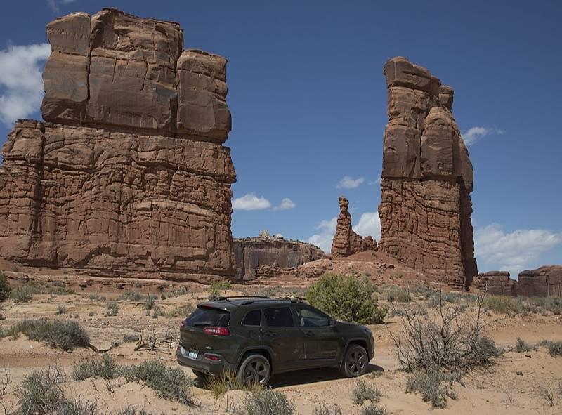 Die Steinformationen dienten schon in vielen Hollywood-Filmen als Kulisse