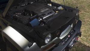 Als Motor kommt der bekannte 3,6-Liter-V6 zum Einsatz