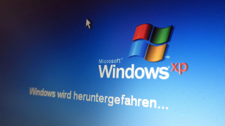Windows XP ist immer noch auf jedem zehnten Rechner installiert