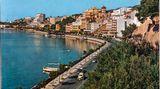 Noch dümpelnde Yachten: Der Passeig Marítim von Palma noch ganz im Dornröschenschlaf zu Beginn der 60er Jahre