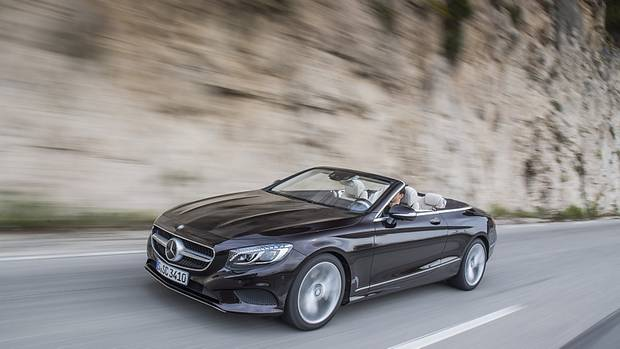 Mercedes S 500 Cabriolet