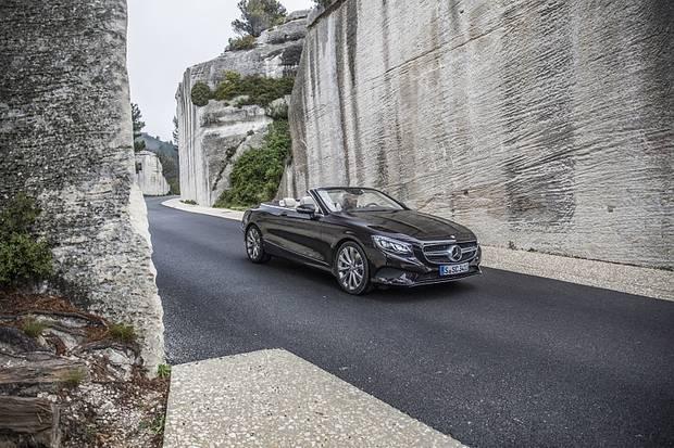 Mercedes S 500 Cabriolet - das Basismodell