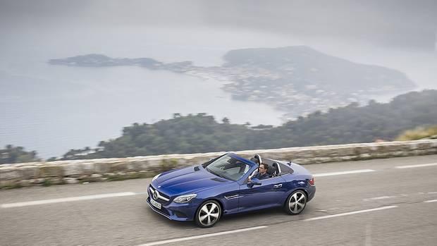 Mercedes SLC 300 - nur wenige Unterschiede zum bisherigen SLK