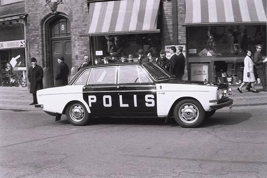 Volvo 144 Polizei Ausführung
