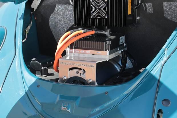 Zelectric baut Elektromotoren in historische VW Modelle