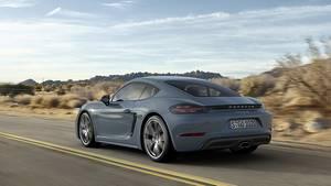 Porsche 718 Cayman - auch am Heck leicht verändert