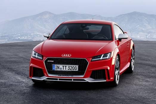 Audi TT RS - 400 PS und 280 km/h Spitze