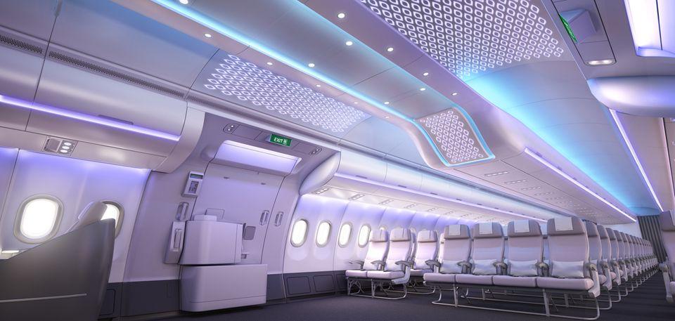 Follow Me: Mehr Stauraum für das Handgepäck über den Sitzen © Airbus