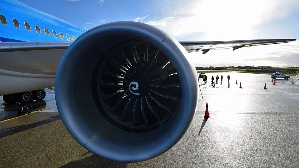 Follow Me: Sorgt mit 321 kN für den nötigen Schub: das Triebwerk GEnx-1B © Till Bartels