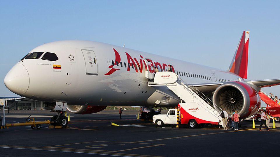 Follow Me: Sechs Maschinen vom Typ Boeing 787 gehören inzwischen zur Flotte von Avianca © Jannis Frech