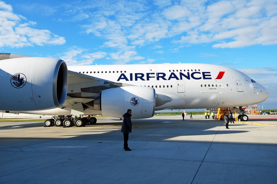Follow Me: Als erste europäische Fluglinie erhielt Air France 2009 die erste A380. © Till Bartels