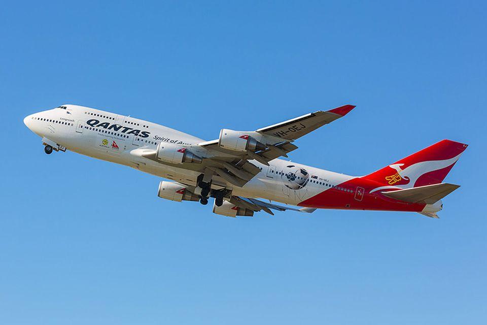 Follow me: Copyright: Qantas