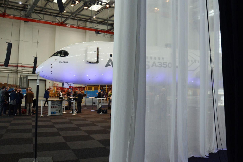 Follow me: So sieht der neue Airbus A350 von innen aus