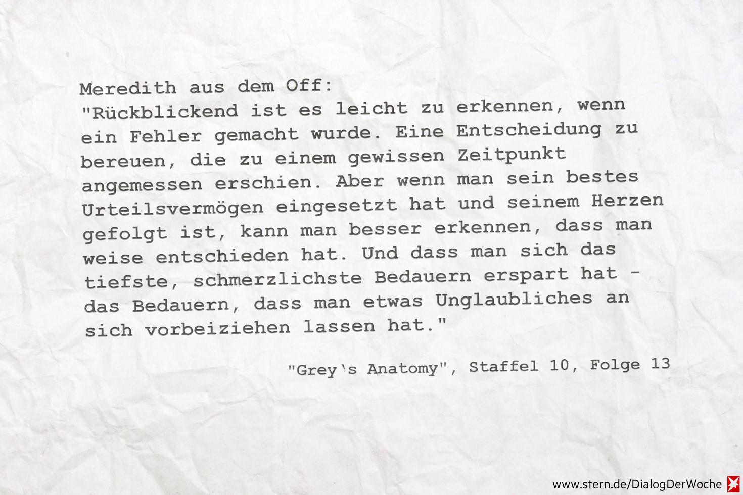grey\'s anatomy sprüche liebe