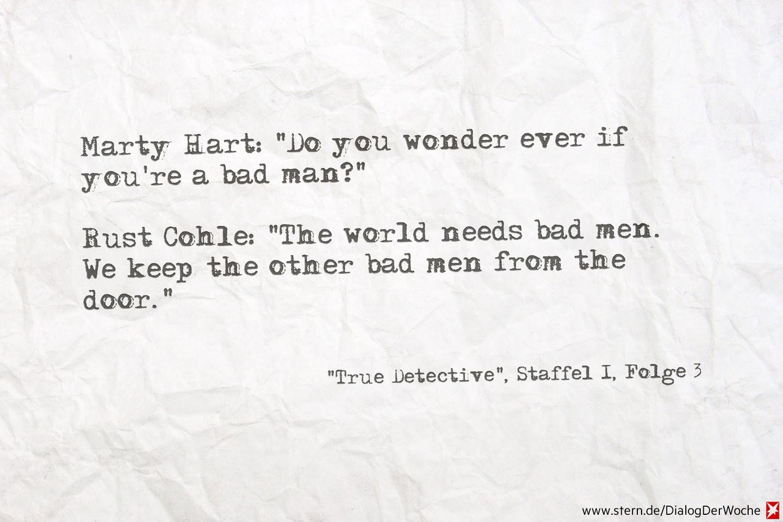 """Seriendialog der Woche: """"True Detective"""" – wie gut ist das denn?!?"""