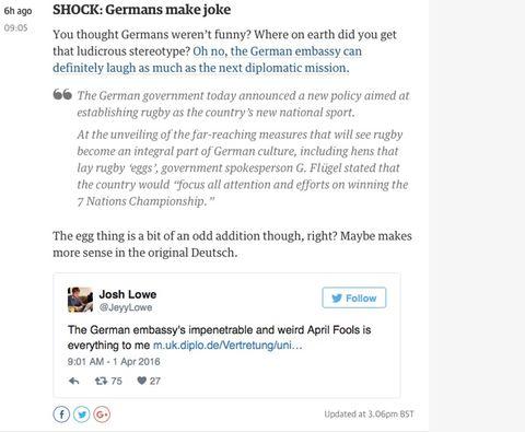 Last Call: Der gemeine Aprilscherz. Wahr oder nicht wahr?