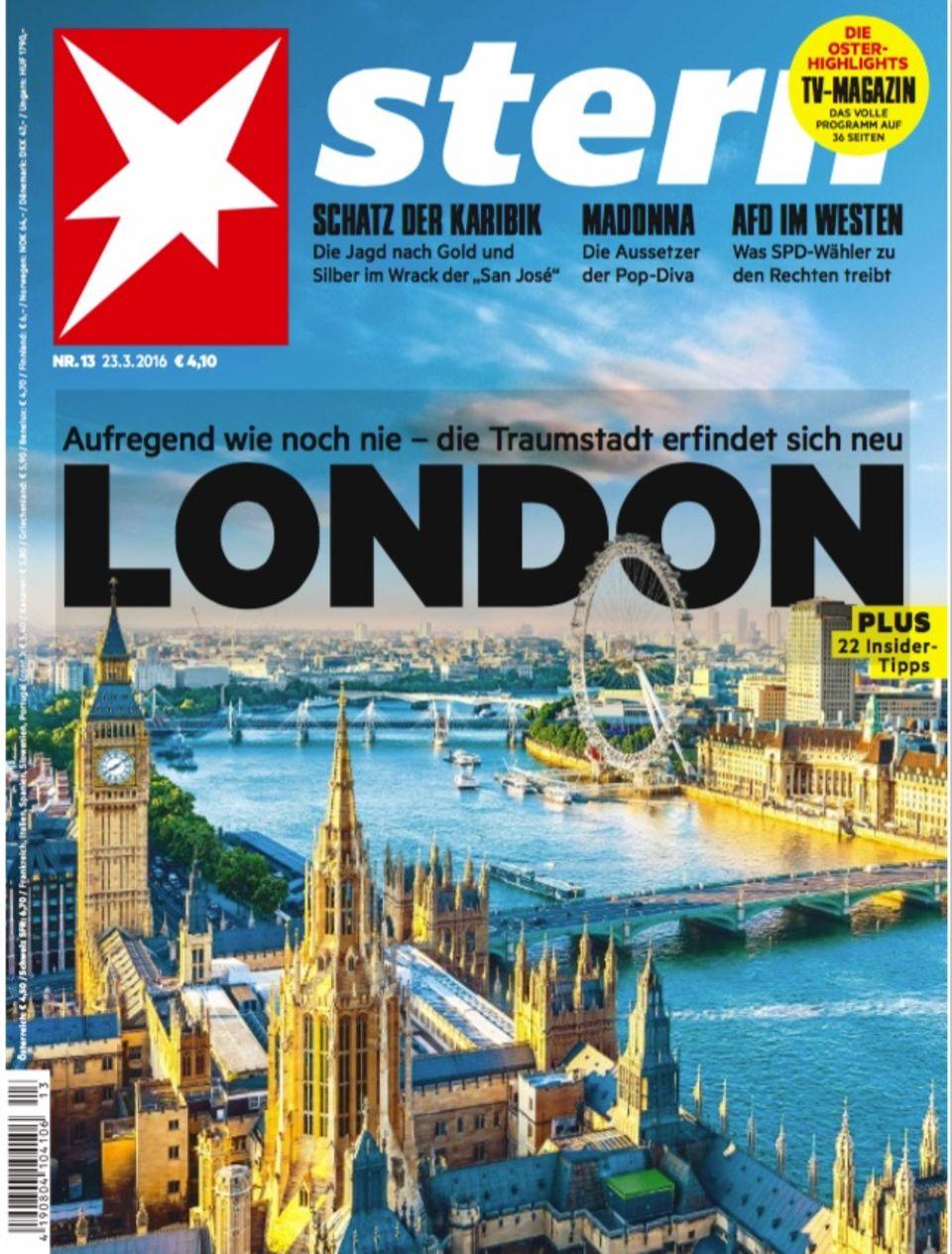 Last Call: Titelbild der aktuellen stern-Ausgabe