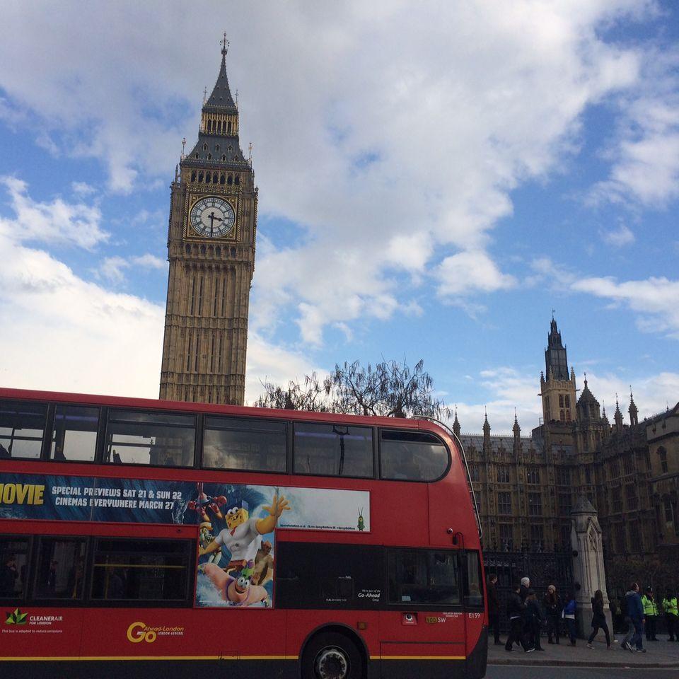 Last Call: Doppeldecker und Big Ben. Das britische Klischee