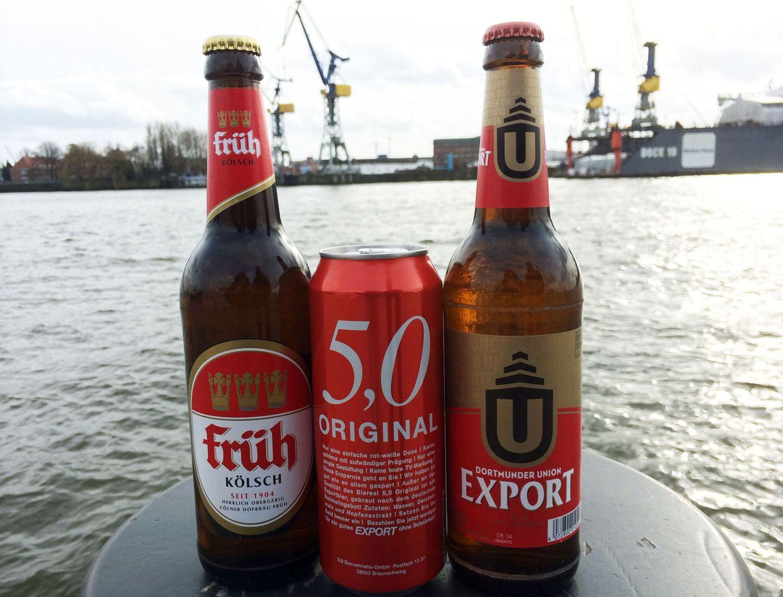 Bier gewinnt: Und was trinkt ihr so?