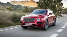 Bentley Bentayga - auch der Brite kommt bald mit dem mächtigen V8-Diesel