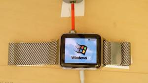 Windows 95 läuft auf dieser Apple Watch
