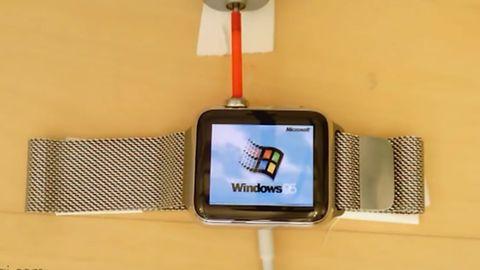 Windows 95 läuft auf dieser Apple Watch