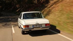 Mercedes 280 E der Baureihe W115 / Strich-Acht