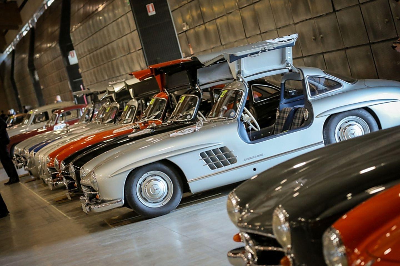 Mille Miglia - mit der technischen Abnahme geht es los
