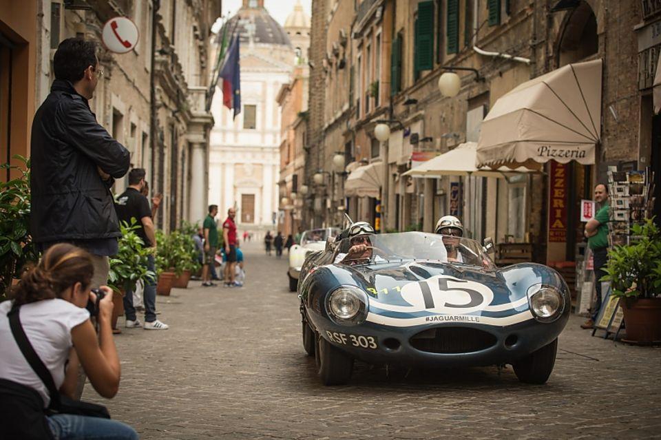 Mille Miglia - eine Rundfahrt durch Italien