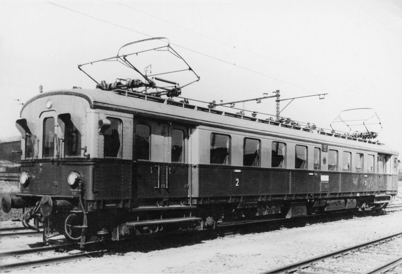Ein Schnelltriebwagen der Reichsbahn 1929
