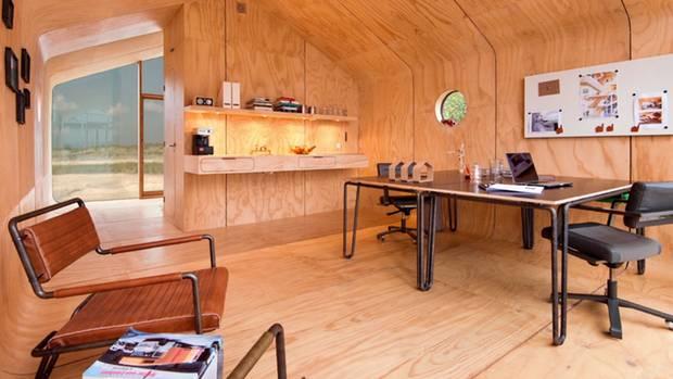 Küche und Wohnzimmer im Wikkelhouse