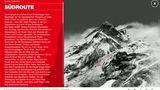 Eingzeichnete Südroute des Mount Everest