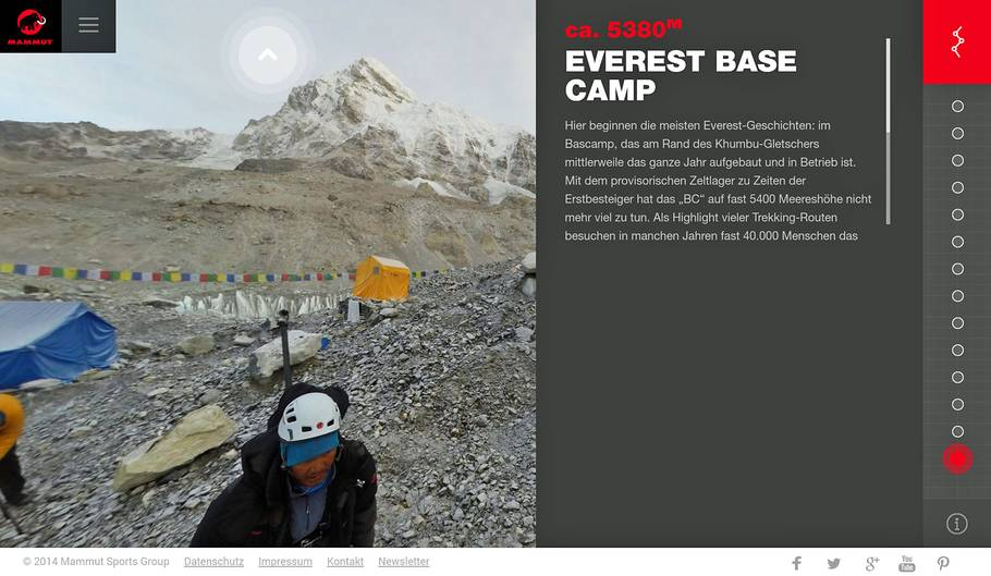 Baislager des Mount Everest