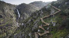 Treppenweg der Paiva Walkways