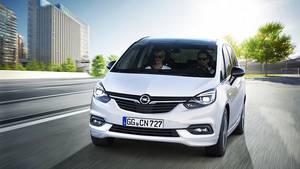 Opel Zafira 2016 - optisch leicht verändert