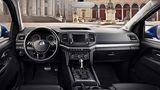 Das neue Armaturenbrett des VW Amarok 3.0 TDI 4motion