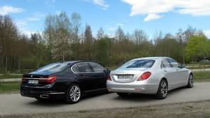 Vergleichstest BMW 730d - Mercedes S 350d