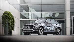Mercedes GLC Fuel Cell 2017 - optisch kaum zu unterscheiden