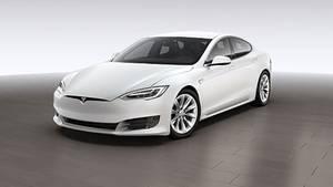 Tesla Model S Modell 2017 - optisch nahezu unverändert