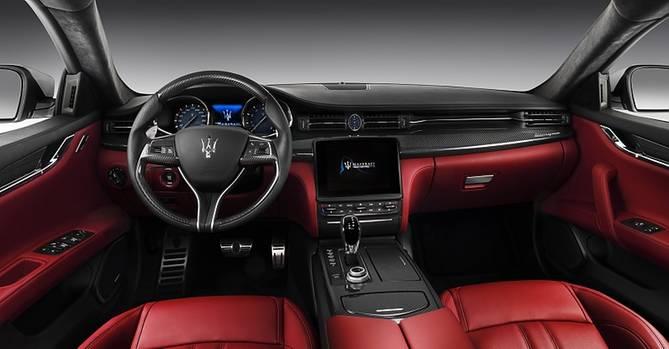 Maserati Quattroporte Modelljahr 2017 - der Innenraum