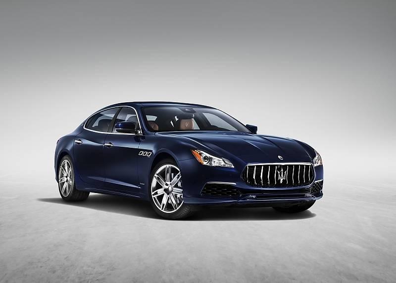 Maserati Quattroporte Modelljahr 2017 - mit neuen Fahrerassistenzsystemen