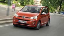 Der Turbo-Dreizylinder-Benziner passt gut zum VW Up